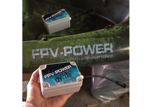 FPV Power 7Ah kayak battery and charger
